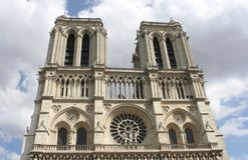 Notre-Dame, Παρίσι στοκ εικόνα