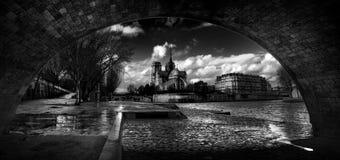 Notre Dame Παρίσι Στοκ Φωτογραφίες