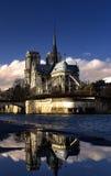 Notre Dame Παρίσι Στοκ εικόνες με δικαίωμα ελεύθερης χρήσης