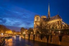 Notre Dame, Παρίσι Στοκ Φωτογραφίες
