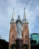 notre dame собора Стоковая Фотография