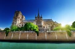 Notre Dame巴黎法国 库存图片