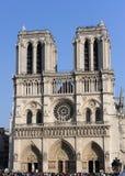 Notre Dame巴黎 免版税库存图片