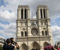 Notre-Dame. An historic cathedral in Paris Royalty Free Stock Image