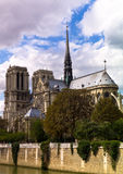Notre Dame. Cathedral - Paris, France Stock Photography