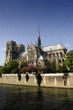 Notre-Dame. The Notre-Dame cathedral in Paris, France Stock Photo
