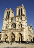 Notre-Dame. The Notre-Dame cathedral in Paris, France Royalty Free Stock Photo
