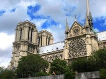 Notre Dame Royaltyfria Bilder