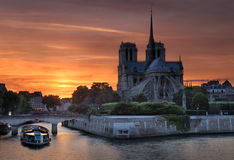 Notre Dame. Royalty Free Stock Photos