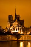 Notre Dame. In Paris Royalty Free Stock Images