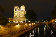 Notre Dame Immagine Stock Libera da Diritti