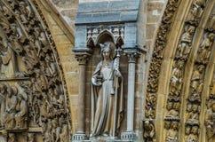 Notre Dame Stock Afbeelding