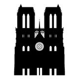 Notre Dame abstract Stock Images