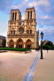 Notre Dame in the afternoon Stock Photography