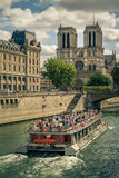 Notre Dame. Amazing Notre Dame cathedral in Paris Stock Image