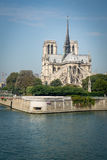 Notre Dame. Amazing Notre Dame cathedral in Paris Stock Images
