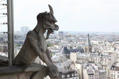 Notre Dame av Paris Arkivfoto