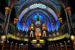 Notre Dame Basilica  Royalty Free Stock Image