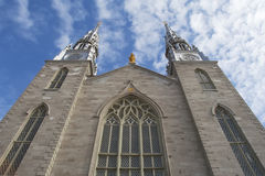 Notre Dame Basilica Cathedral Royalty Free Stock Photography