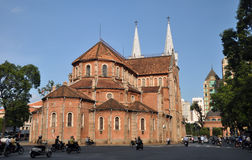 Notre Dame Basilica, Ho chi Minh City, Vietnam Royalty Free Stock Images