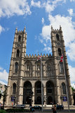 Notre Dame Basilica in Montreal. Beautiful interior of Montreal's Notre Dame Basilica Royalty Free Stock Photo