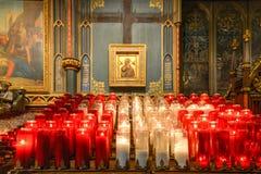 Notre Dame Basilica - Montreal, Canadá Imagen de archivo libre de regalías