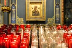 Notre Dame Basilica - Montreal, Canadá Fotos de archivo