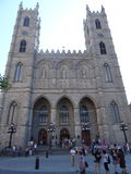 Notre Dame Basilica of Montreal. royalty free stock photography