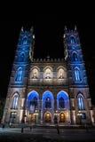 Notre Dame Basilica, Montreal, control de calidad Fotografía de archivo libre de regalías