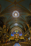 Notre Dame Basilica in Montreal Royalty Free Stock Images
