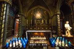 Notre Dame basilica, Montreal, Quebec, Canada Royalty Free Stock Photography