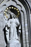 Notre Dame Basilica, Montreal, Quebeque, Canadá imagens de stock royalty free