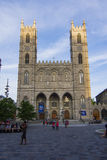 Notre Dame Basilica in Montreal Royalty Free Stock Photo