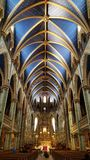 Notre Dame Basilica in Ottawa, Ontario royalty free stock photography