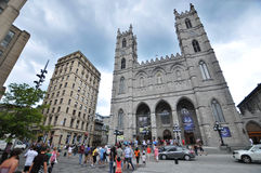 Notre-Dame-Basiliek Royalty-vrije Stock Afbeeldingen