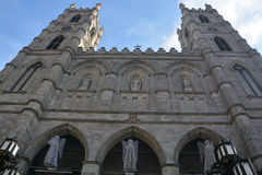 Notre-Dame basilika Royaltyfri Fotografi