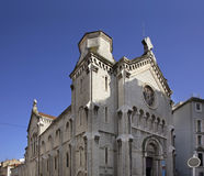 Notre dame bon voyage church in Cannes. France.  Stock Photos
