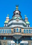 Notre Dame Bonsecours Chapel, Montreal, Quebec, Canada stock photography
