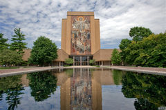 Notre Dame campus Stock Photography