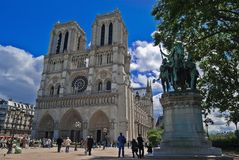 Notre Dame Cathedral Royalty Free Stock Image