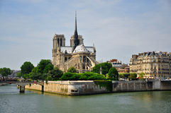 Notre-Dame Cathedral. Paris, France Royalty Free Stock Image