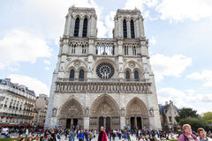 Notre Dame Cathedral Royalty-vrije Stock Fotografie