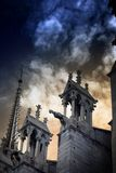 Notre Dame Cathedral royalty free stock photography