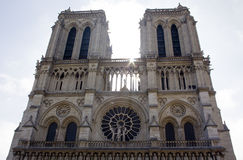 Notre Dame Cathedral Royalty-vrije Stock Afbeelding