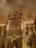 Notre-Dame Cathedral Stock Image
