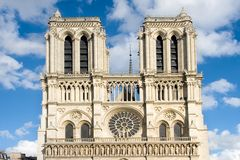 Notre Dame Cathedral Stock Photos