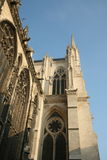 Notre Dame cathedral. Architectural detail of Notre Dame cathedral Royalty Free Stock Photo
