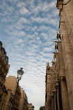 Notre Dame Cathedral, architectural details , Paris . Stock Photo