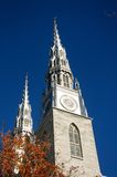Notre Dame Cathedral Basilica Ottawa Royalty Free Stock Photo