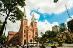 Notre-Dame Cathedral Basilica of Saigon Royalty Free Stock Photos